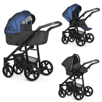 Venicci Valdi Dark Blue 3 in 1 Travel System