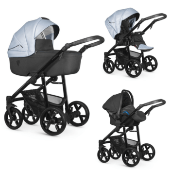 Venicci Light Blue 3 in 1 Travel System