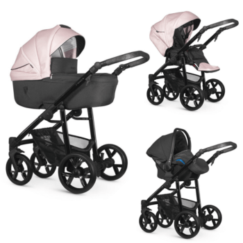 Venicci Valdi Pink 3 in 1 Travel System