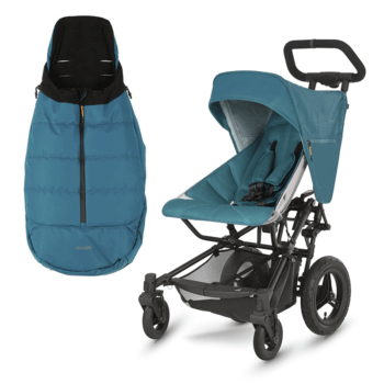 Micralite FastFold Stroller + Free Footmuff - Teal