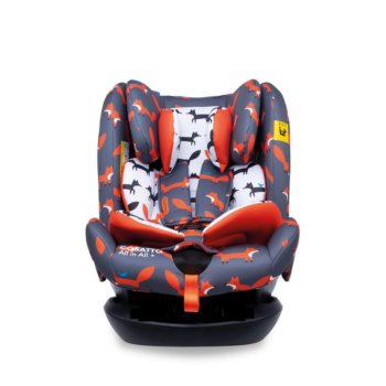 Cosatto All in All Plus Car Seat Charcoal Mister Fox