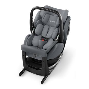 Recaro Zero.1 Elite Aluminium Grey Car Seat