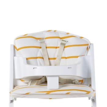 Childhome Lambda Grow Chair Cushion - Ochre Stripes