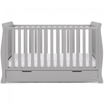 Obaby Stamford Classic Cot Bed Warm Grey 3