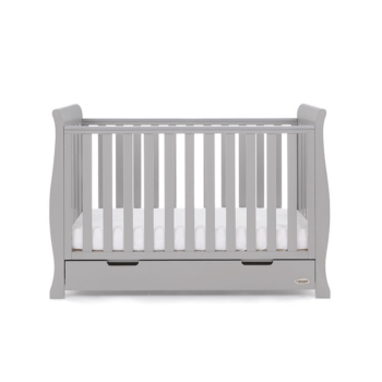 Obaby Stamford Mini Cot Bed Warm Grey 3