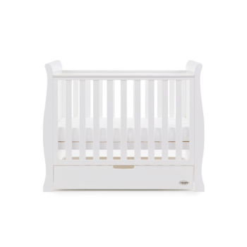 Obaby Stamford Space Saver Cot White 3