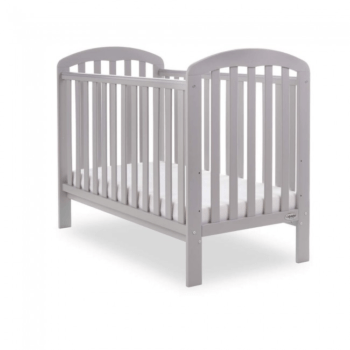 Lily cot bed warm grey