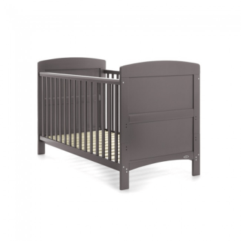 Obaby Grace Cot Bed Taupe Grey 2
