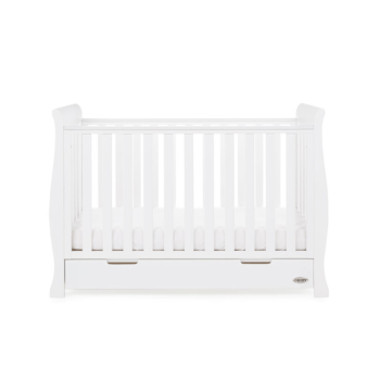 obaby stamford mini cot bed white 3