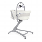 Chicco Baby Hug Air 4-in-1 Crib - White Snow
