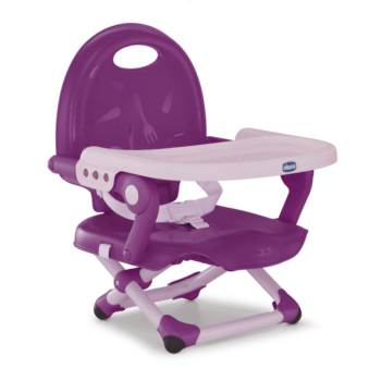 Pocket Snack Booster Seat Violetta Chicco