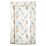 East Coast Changing Mat - Feathers (Blue)