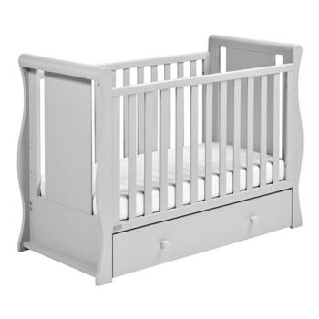 Nebraska Sleight Cot Bed - Grey