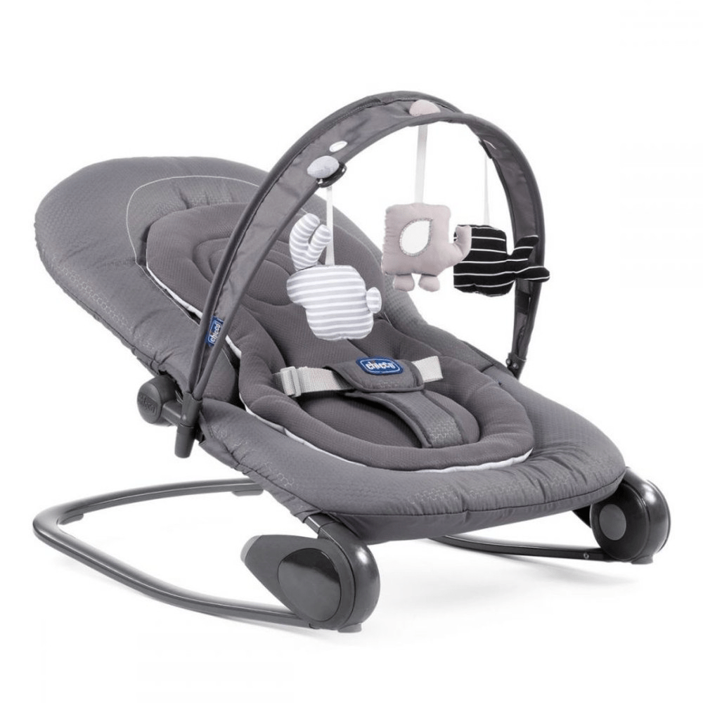 chicco hooper bouncer moon grey
