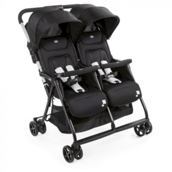 Chicco Ohlala Twin Stroller Black Night