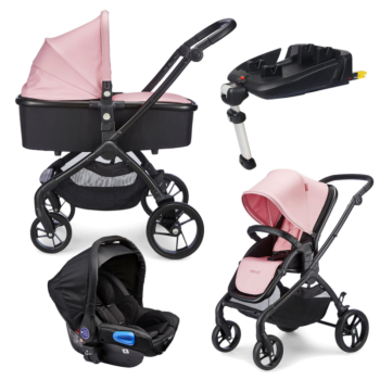 Mee-go Plumo Rose Pink Travel System