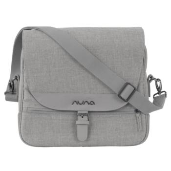 Nuna diaper bag frost 2