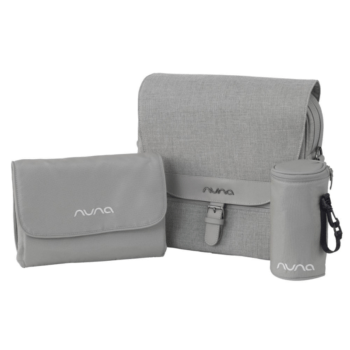 Nuna diaper bag frost
