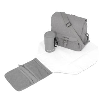 Nuna diaper bag frost 5