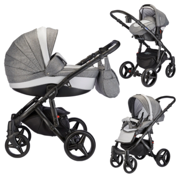 Mee-go Milano Travel System Dove Grey