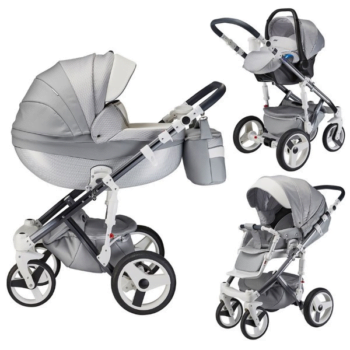 milano silver charm travel system