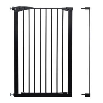 Callowesse Extra Tall Safety Gate With 7cm Black