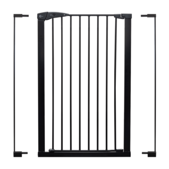 Callowesse Extra Tall Pet Gate Black