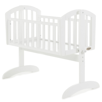 Obaby Sophie Swinging Crib White 1