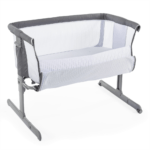 Chicco Next2Me Air Side-Sleeping Crib - Dark Grey