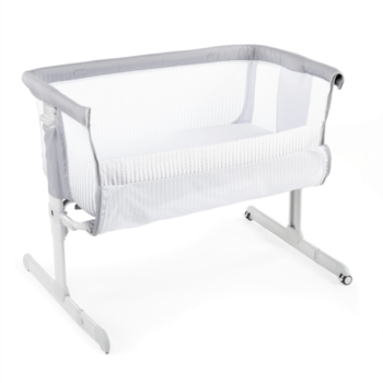 chicco next2me air side sleepign crib stone