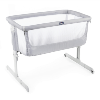 chicco next2me air side sleepign crib stone top up