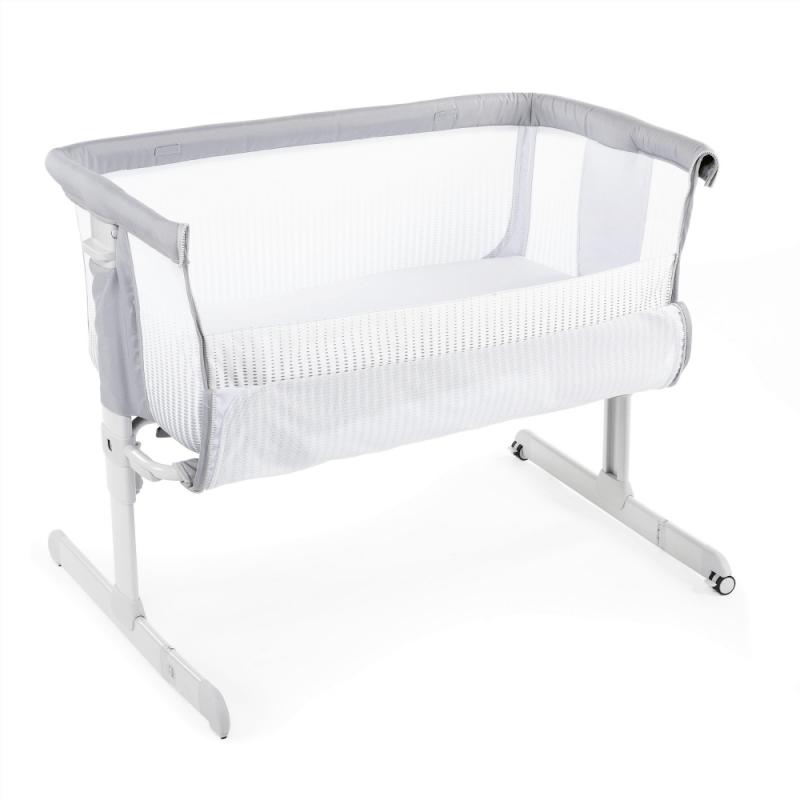 chicco next2me air side sleepign crib stone