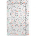 Callowesse Changing Mat Deluxe Waterproof with Raised Edges - Hello Dino