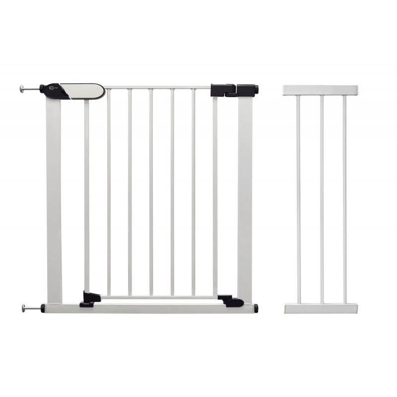 White Suitable as Baby Gate /& Pet Gate Red//Green Safety Locking Indicators. 82-89cm with Included 7cm Extension Callowesse/® Kemble Pressure Fit Safety Gate