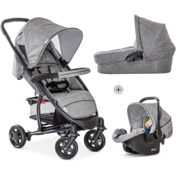 Hauck Malibu 4 Trioset 3 in 1 Travel System