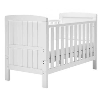 East Coast Austin Cot Bed - White