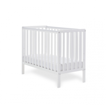 Obaby Bantam Cot Bed White 1