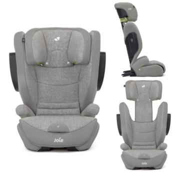 Joie i-Traver Group 2/3 Car Seat – Grey Flannel