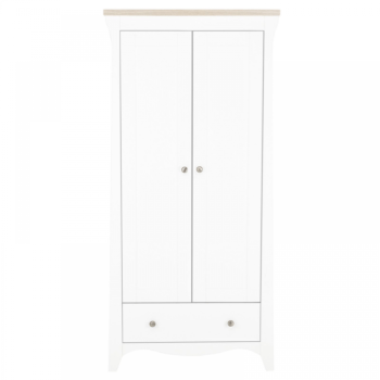 Clara 2 door double wardrobe
