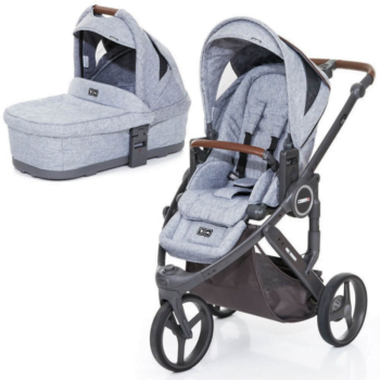Cobra Plus Carrycot and Pushchair - Graphite Grey
