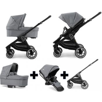 Emmaljunga NXT60 Travel System Black Lounge Grey