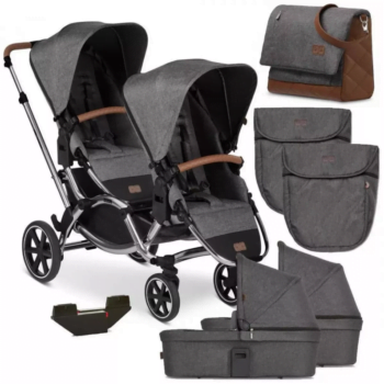 Zoom Double Tandem Pushchair Bundle