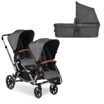 Zoom Double Tandem Pushchair + Carrycot