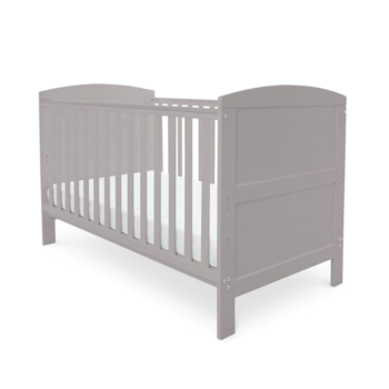 Babyhoot coleby cot bed grey