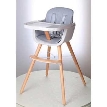 Callowesse Elata 3 in 1 wooden highchair grey single