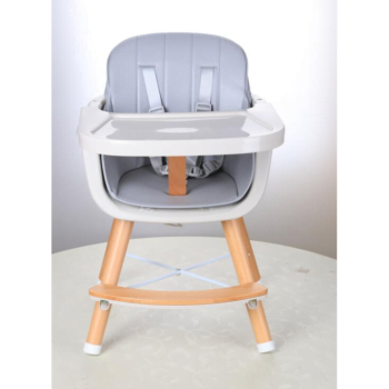 Callowesse Elata 3 in 1 wooden highchair grey small