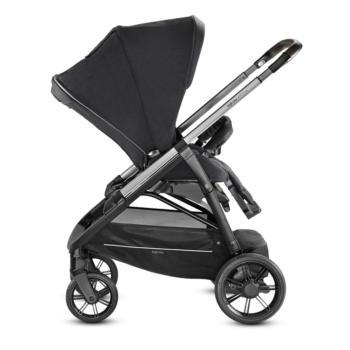 Inglesina Aptica 3-in-1 Travel System Mystic Black stroller right side
