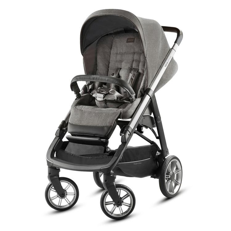 Inglesina Aptica System Quattro- Kensington Grey - Stroller Front View