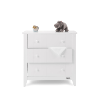 obaby belton chest of drawers white