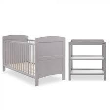 obaby grace 2 room set warm grey